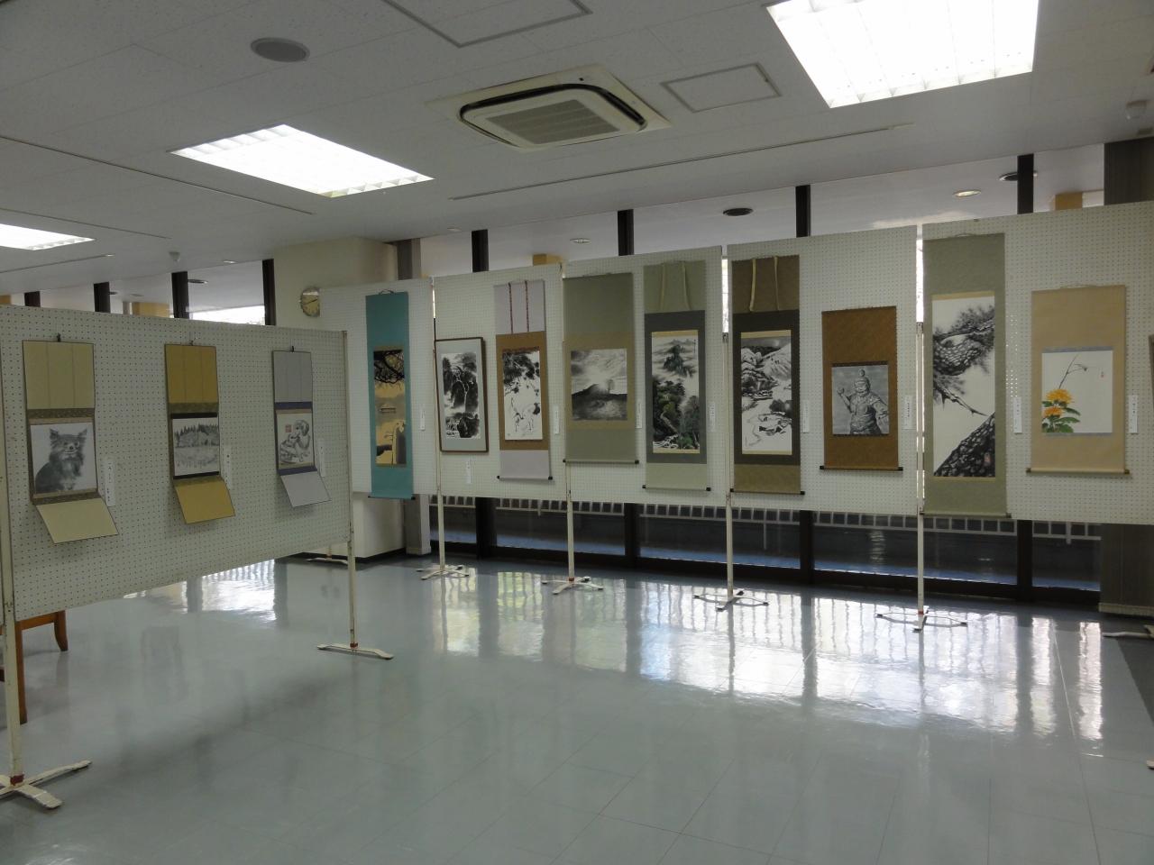 東京都退職校長会絵画クラブ 第27回 水墨画みすみ会展